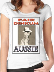 FAIR DINKUM Women's Fitted Scoop T-Shirt