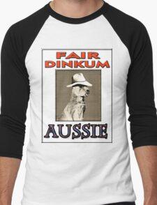 FAIR DINKUM Men's Baseball ¾ T-Shirt