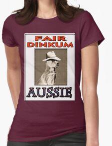 FAIR DINKUM Womens Fitted T-Shirt