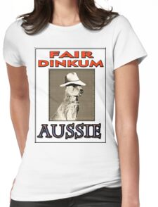 FAIR DINKUM Womens Fitted T-Shirt