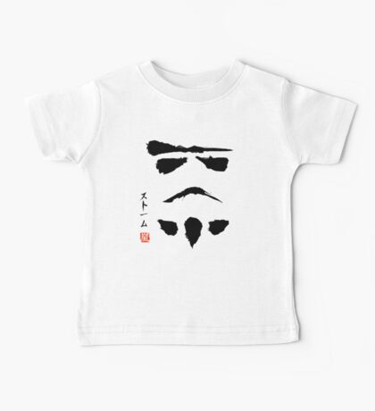 Star Wars Droid Minimalistic Painting Baby Tee