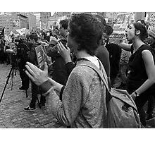 Gonski Protests Photographic Print