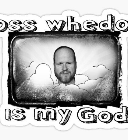 joss whedon is my god Sticker