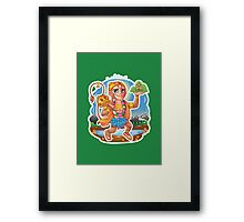 Hanuman - Hindu God - Bunch of Bhagwans Framed Print