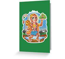 Hanuman - Hindu God - Bunch of Bhagwans Greeting Card