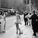 Swanston Street by Andrew  Makowiecki