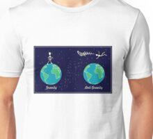 A gravitational matter Unisex T-Shirt