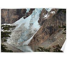 Glacier Lake Poster