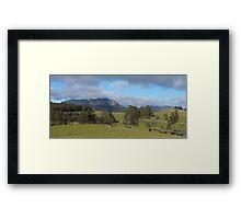 Mt Roland - viewed from near Staverton Framed Print
