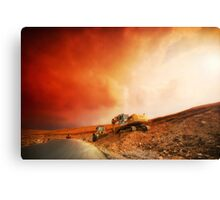 Red Storm Canvas Print