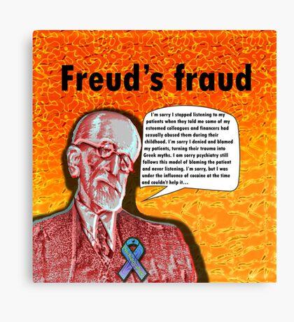 Freud's fraud Canvas Print