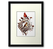 Red Thread Framed Print