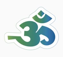 Om / Aum - Sanskrit Hindu Symbol - G2B Kids Tee