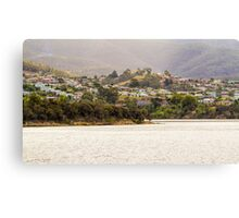 Along the Derwent River, Tasmania Canvas Print