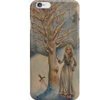 A Woman in Winter iPhone Case/Skin