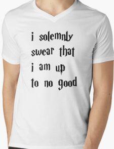 Harry Potter Shirttt Mens V-Neck T-Shirt