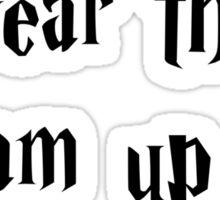 Harry Potter Shirttt Sticker