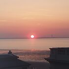 Sunset over southampton by woodie123