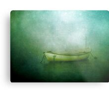 Sound of the sea in lonely bays Metal Print