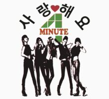 ㋡♥♫SaRangHaeYo(Love) Hot Fabulous K-Pop Girl Group-4Minute Clothing & Stickers♪♥㋡ Kids Clothes