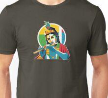 Lord Krishna - Hindu God - Geometric Avatar Unisex T-Shirt