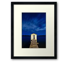 The Wheel House by night Framed Print