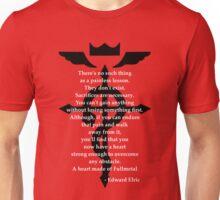 Fullmetal Heart Black Unisex T-Shirt