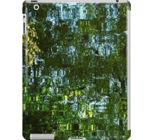 Reflections of trees iPad Case/Skin