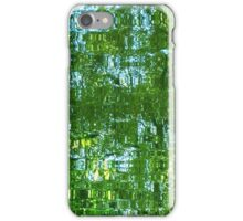 Light green reflection iPhone Case/Skin