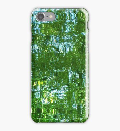 Light green reflection iPhone Case/Skin