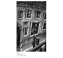 """""""Ghost House Gallery"""" - From Darkness to Darkness Photographic Print"""