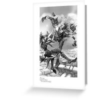 """""""The Battle"""" - From Darkness to Darkness Greeting Card"""