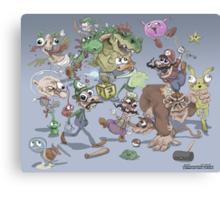 Super Smash Brothers Canvas Print