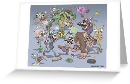 Super Smash Brothers by Idrawcartoons
