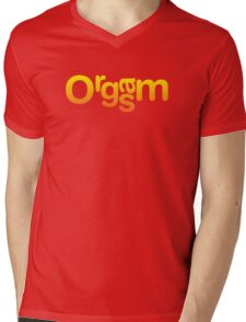 Orgasm Mens V-Neck T-Shirt