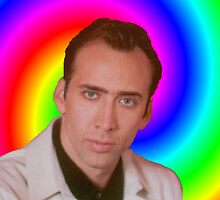 Nicolas Cage's Mind by Anthony-Paps