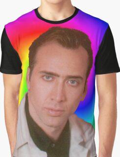 Nicolas Cage's Mind Graphic T-Shirt