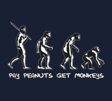 Pay Peanuts Get Monkeys Kids Clothes