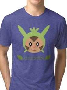 Chespin - Pokemon X & Y Tri-blend T-Shirt