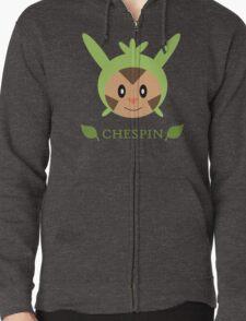 Chespin - Pokemon X & Y Zipped Hoodie