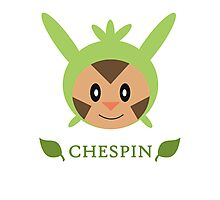Chespin - Pokemon X & Y Photographic Print