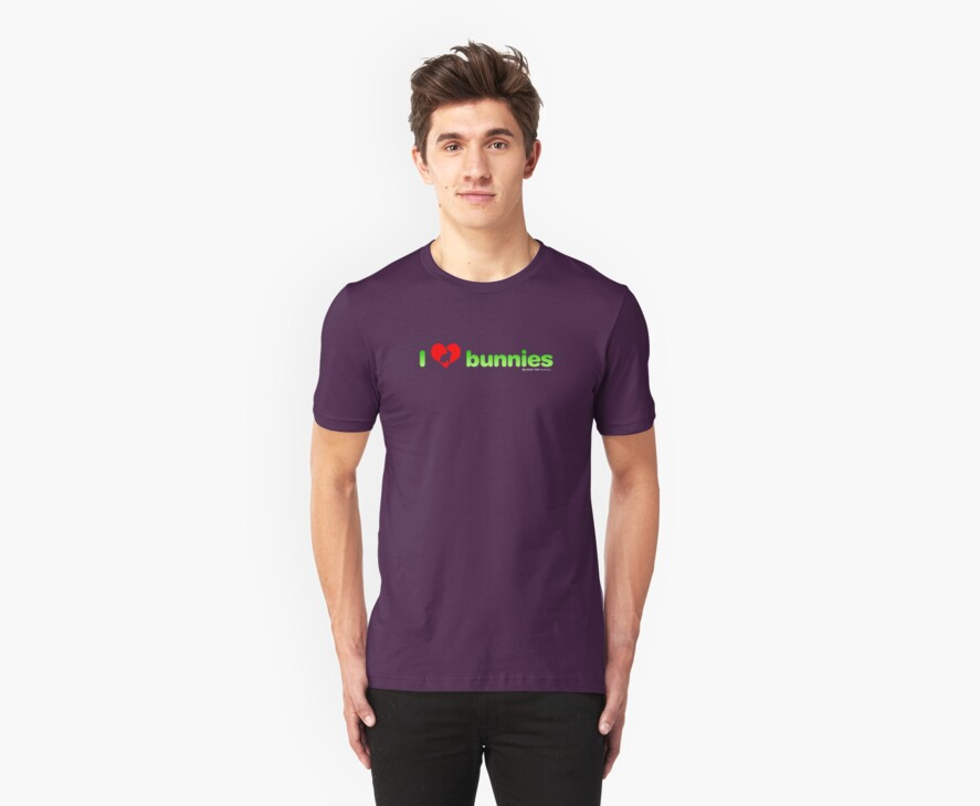 I Love Bunnies by CarbonClothing