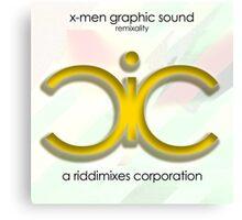 x-men graphic sound, ccxi. 2016 Canvas Print