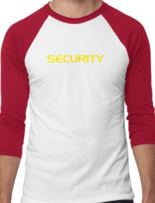Security Men's Baseball ¾ T-Shirt