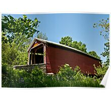 Jack's Mountain Covered Bridge Poster