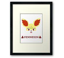 Fennekin - Pokemon X & Y Framed Print