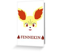 Fennekin - Pokemon X & Y Greeting Card