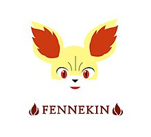 Fennekin - Pokemon X & Y Photographic Print