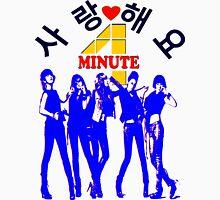 ㋡♥♫SaRangHaeYo(Love) Hot Fabulous K-Pop Girl Group-4Minute Clothing & Stickers♪♥㋡ Men's Baseball ¾ T-Shirt