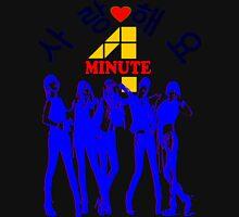 ㋡♥♫SaRangHaeYo(Love) Hot Fabulous K-Pop Girl Group-4Minute Clothing & Stickers♪♥㋡ Zipped Hoodie